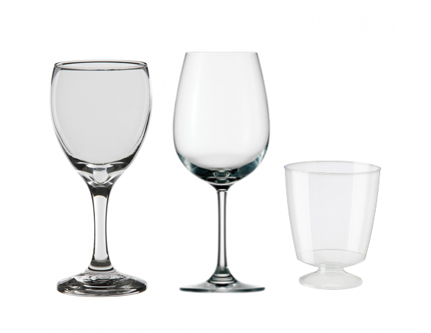 hospitality supplies glassware