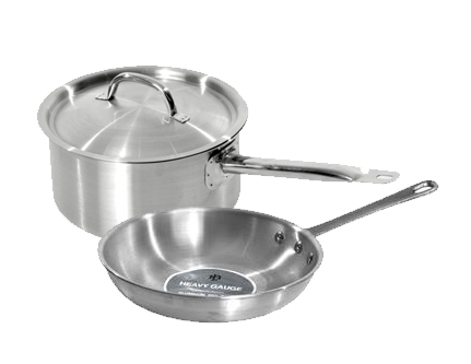 hospitality supplies pots and pans